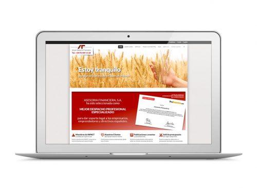 Disseny i programació Web. Grupo Asesoria Financiera