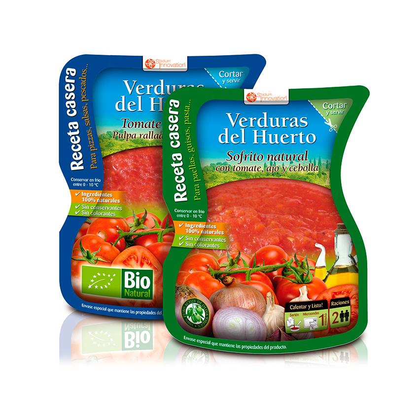 Diseño de packaging alimentación
