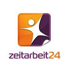 Logotipo Zeitarbeit24. Diseño de logotipos, Branding, identidad Visual, imagen corporativa. Barcelona