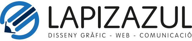 Logotipo Lapizazul. Diseño gráfico y diseño web en Barcelona